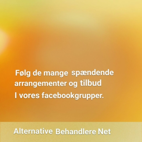 Facebook. Alternative Behandlere.