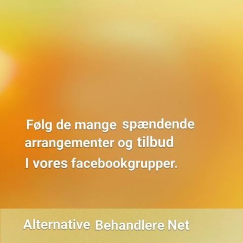 Facebook. Alternative Behandlere.