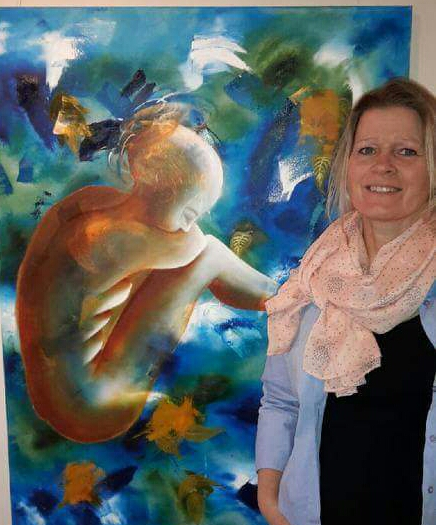 Kunst. Hold. Undervisning. Ulla Kronel. Maling. Spirituel maling.